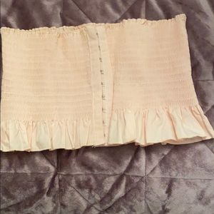 Crop top pale pink small medium size